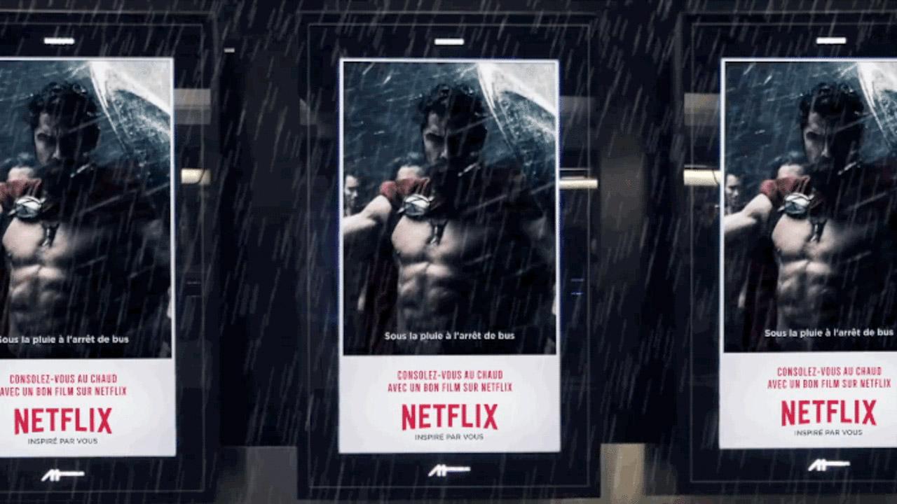 La Publicidad BTL de Netflix